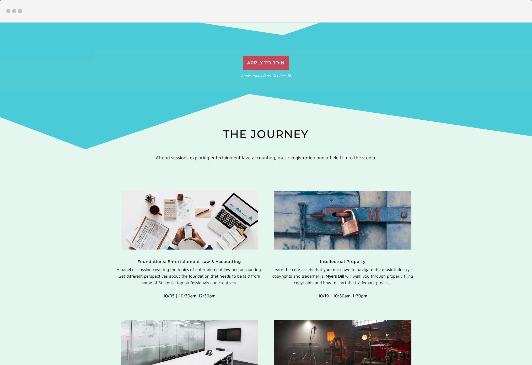 Julian Jewels - Landing Page