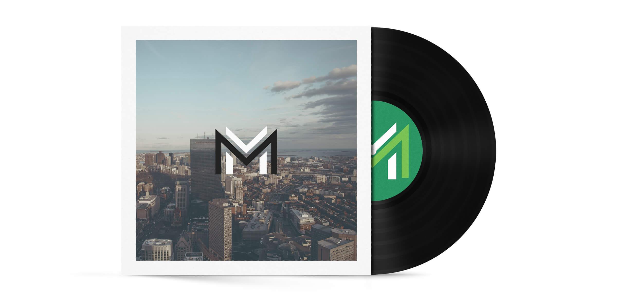 Mavz Media Album Mockup