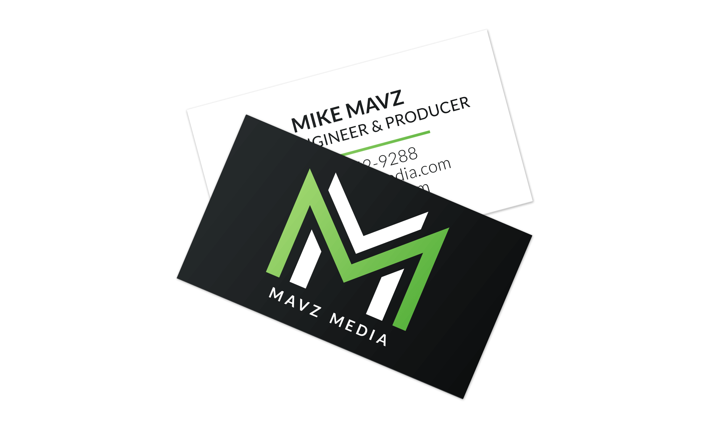 Mavz Media Business Cards