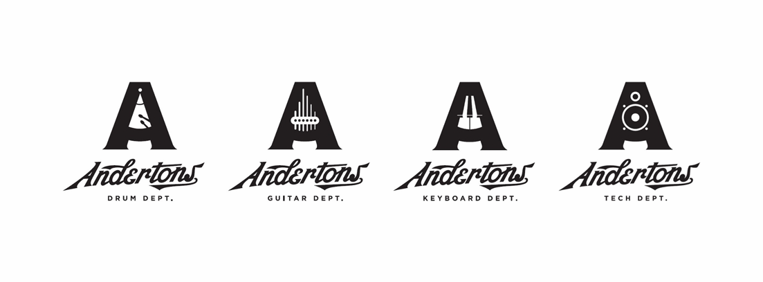Andertons - 2017 Most Popular Logo Design Trends