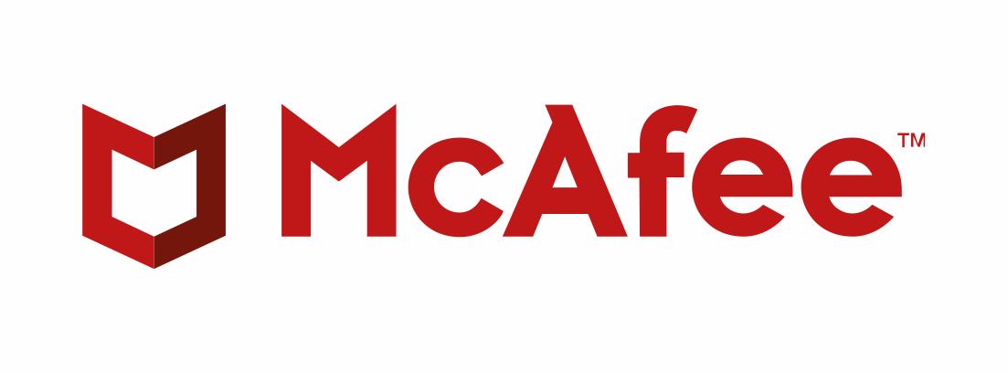 McAfee - 2017 Most Popular Logo Design Trends